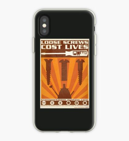 Time War Propaganda II iPhone Case