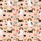 beagle sushi dog breed pet pattern cute pure breeds by PetFriendly