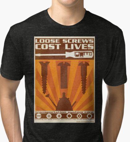 Time War Propaganda II Tri-blend T-Shirt