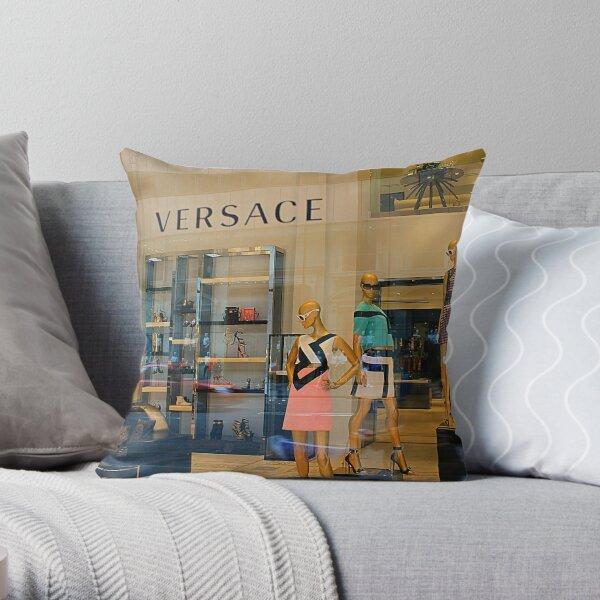 5th Avenue Street View (2) Throw Pillow