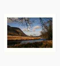 Lake in Glenveagh National Park #1 Art Print