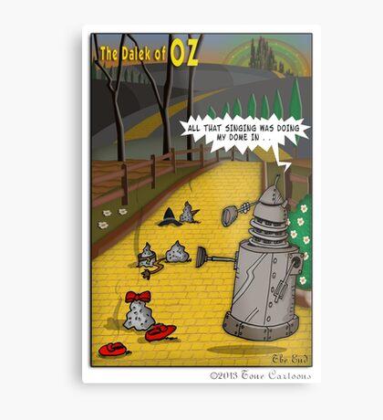 The Dalek Of OZ Metal Print