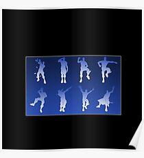 Fortnite Dance Moves  Poster