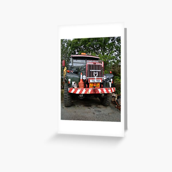 Truck 1 Greeting Card