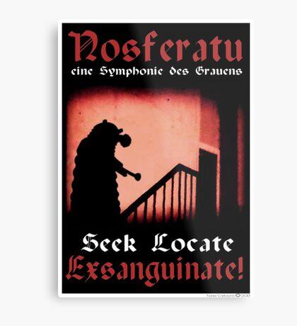 Remembrance of the Vampires Metal Print