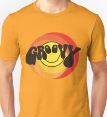 Groovy - Retro shirt Unisex T-Shirt