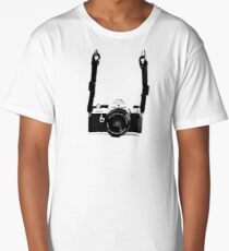 Classic Vintage 35mm Film SLR Camera Pentax MX  Long T-Shirt