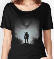 tops et Redbubble Witcher shirts T femme TqWPgSfR