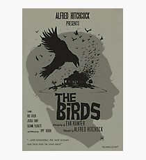 THE BIRDS- ALTERNATIVE POSTER Photographic Print