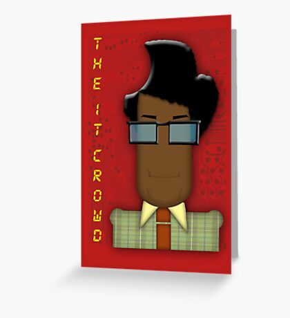 it crowd tee Greeting Card