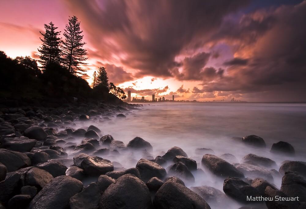 Burleigh Heads Sunset by Matthew Stewart