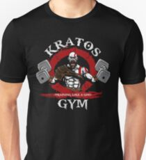 Kratos Fitnessstudio Slim Fit T-Shirt