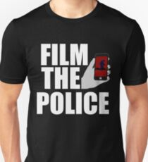 FILM THE POLICE (I CAN'T BREATHE)  Unisex T-Shirt