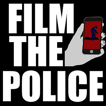 FILM THE POLICE (I CAN'T BREATHE)  by sayers