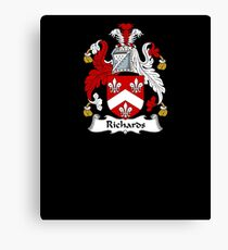 Richards Coat of Arms - Family Crest Shirt Canvas Print