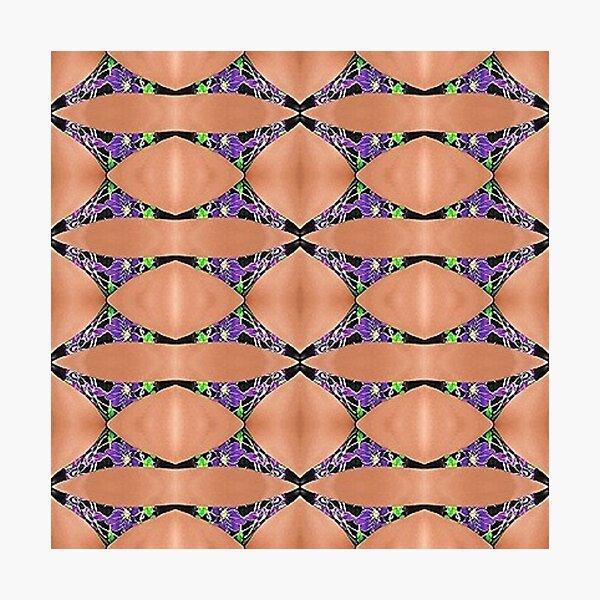 Temper, disposition, tone, structure, framework, composition, frame, texture Photographic Print