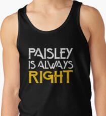 Paisley is always right Men's Tank Top