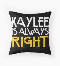 Kaylee is always right Throw Pillow
