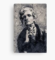 Layne Staley Geometric Art Canvas Print