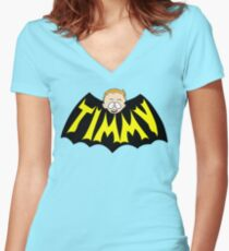 Timmy Women's Fitted V-Neck T-Shirt