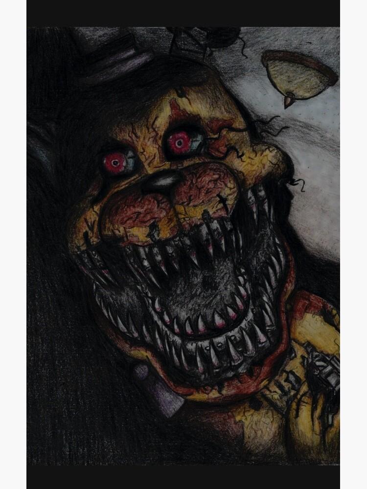 FNaF Nightmare Fredbear by nyrofletcher