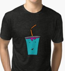 SUPER COLOUR SODA BOY Tri-blend T-Shirt
