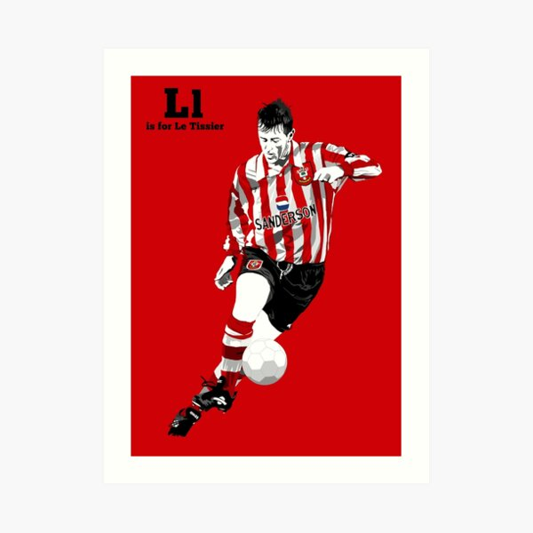 L is for Le Tissier Art Print