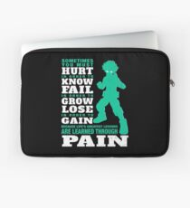 My Hero are learned through pain Laptop Sleeve