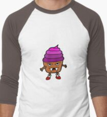 MUFFIN MONSTER Men's Baseball ¾ T-Shirt