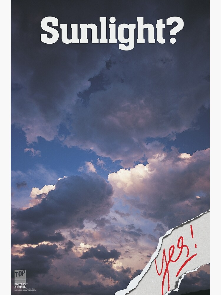 SUNLIGHT? Yes! by BeautifulPrints