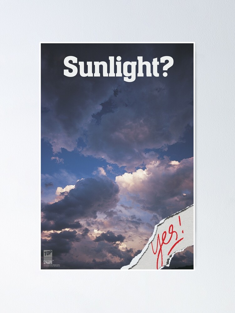Alternate view of SUNLIGHT? Yes! Poster