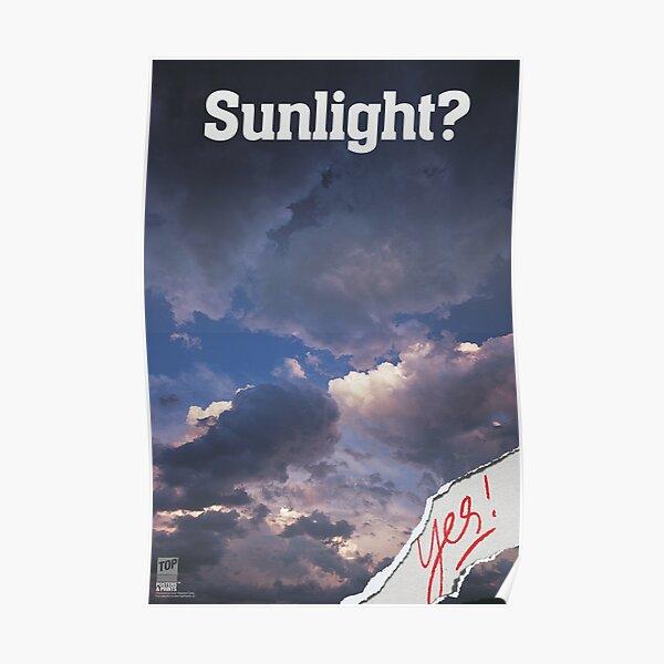 SUNLIGHT? Yes! Poster