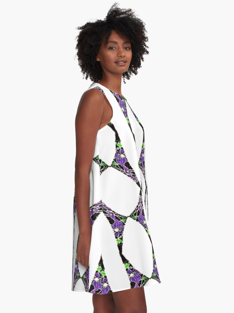Alternate view of Form, make, character, nature, temper, disposition, tone, structure A-Line Dress