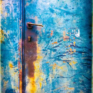 Rusty old door by sil63