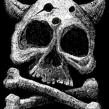 The Skull of The Beast by bloodink