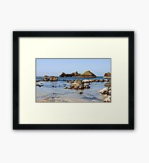 The Calm Water Framed Print