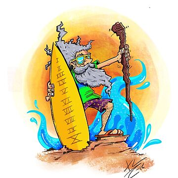 Moses and the tables of 10 commandments. by santanafirpo