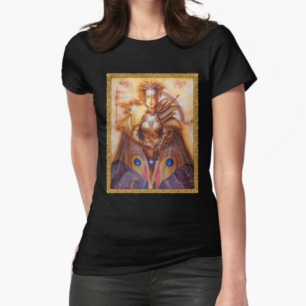 Dreaming Cover Art: Sidhe Fitted T-Shirt