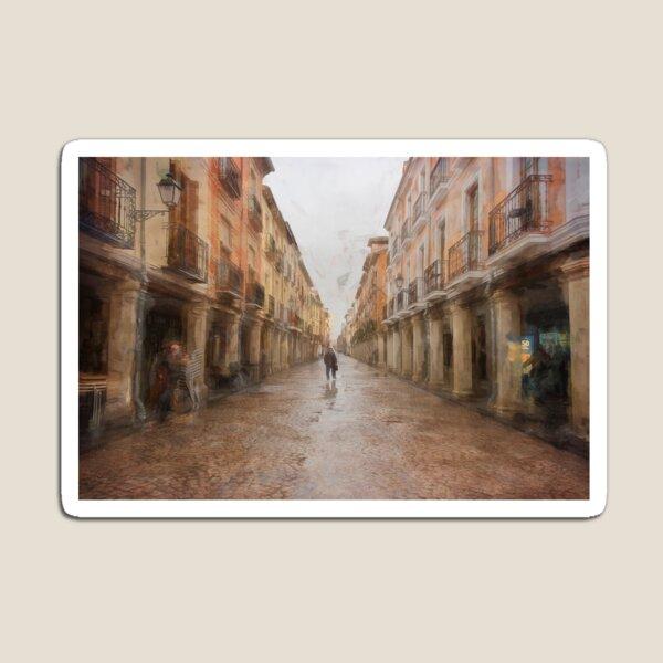 Calle Mayor Alcalá de Henares España Imán