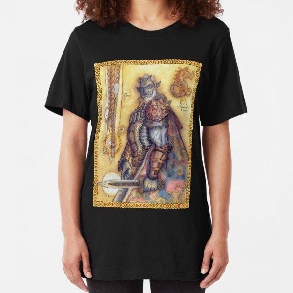 Dreaming Cover Art: Trolls Slim Fit T-Shirt