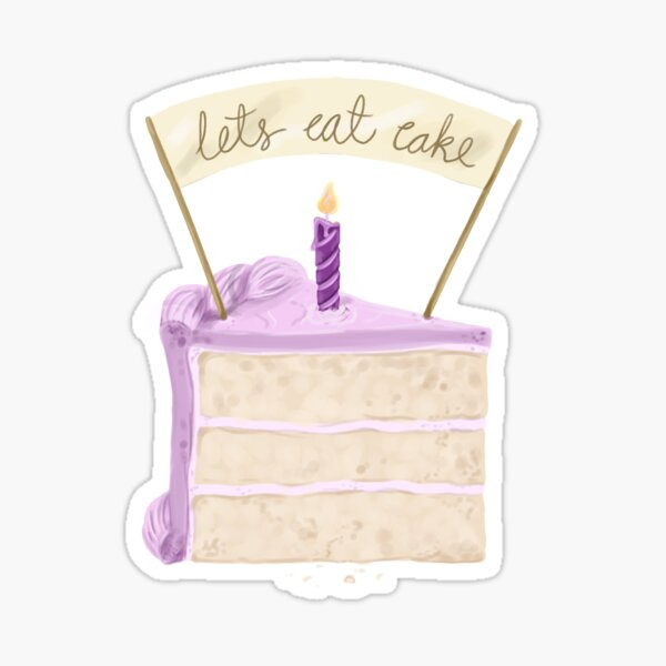 Glossy Stickers Eat Cake ULTIMATE FULL KIT