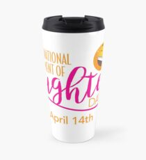Start to Celebrate Laughter All Year Around Travel Mug