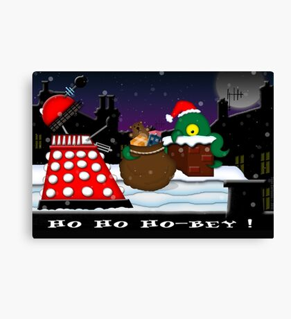 Ho ho ho-bey! Canvas Print