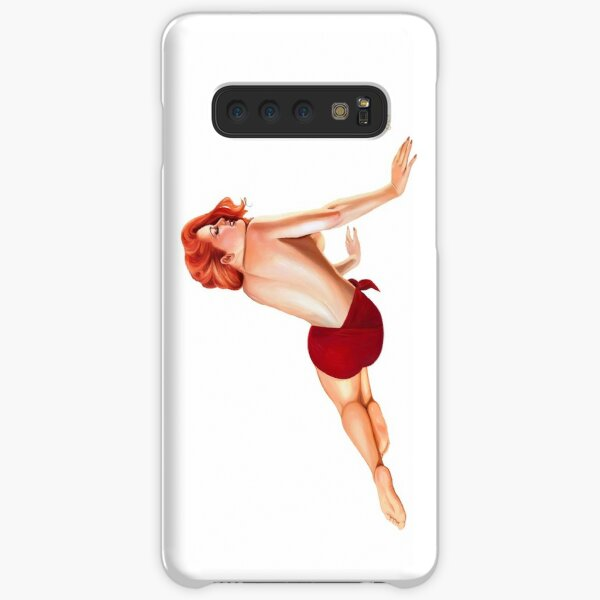 Vintage Pin up Girl Samsung Galaxy Snap Case