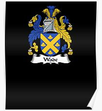 Wade Coat of Arms - Family Crest Shirt Poster