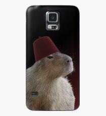 Capybara in einem Fez Hülle & Klebefolie für Samsung Galaxy