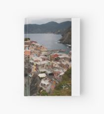 Cloudy Cinque Terre Hardcover Journal