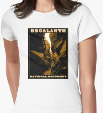 Escalante National Monument Women's Fitted T-Shirt