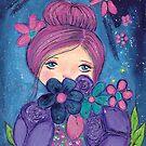 Flower Gazing by Kimberly Pusey