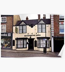 Blacksmiths Arms - Thirsk North Yorkshire Poster